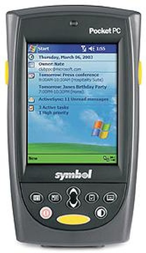 Терминал сбора данных Zebra / Motorola Symbol PPT8800 R3BZ1000 (Batch, 1D Scanner, WM2003 for Pocket PC, 64RAM / 64 ROM, 15 keys)