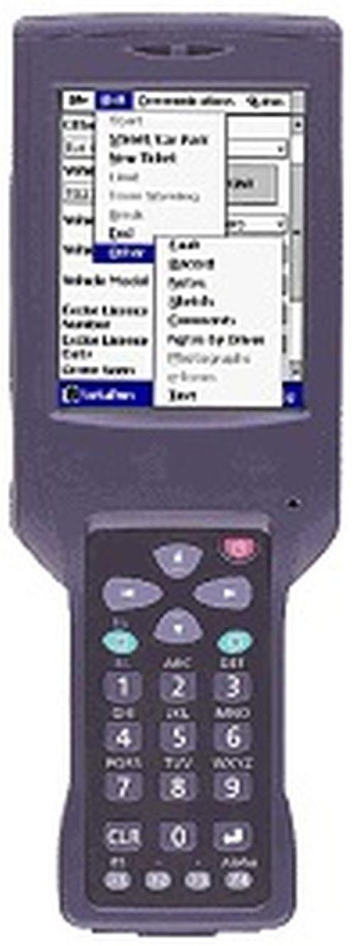 Терминал сбора данных Casio DT X10M30E, Windows CE. NET, 32 Mb, цветной сенсорный экран, Image сканер