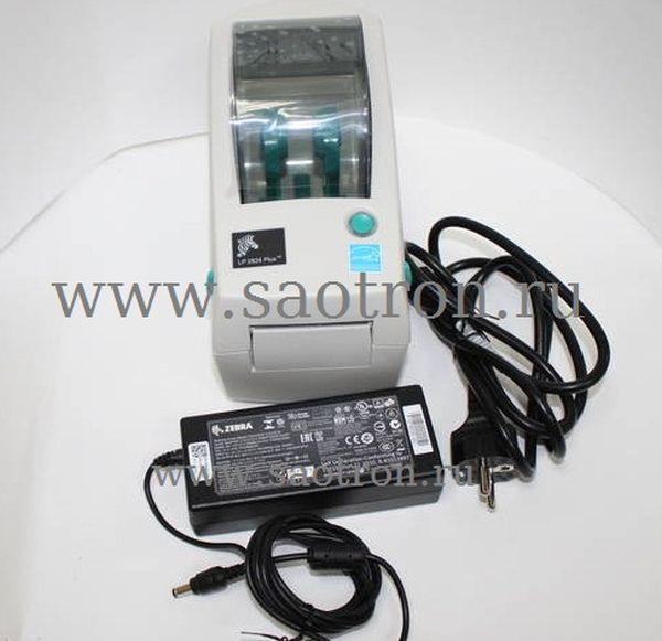 Термопринтер этикеток Zebra LP 2824 Plus (203 dpi DT, LPT)