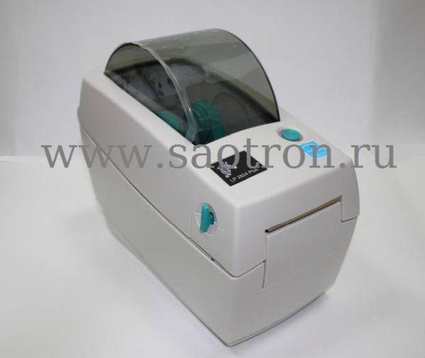 Термопринтер этикеток Zebra LP 2824 Plus (203d pi DT, LPT, Отделитель этикеток)