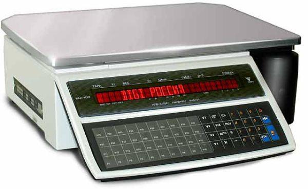 Электронные весы DIGI SM-100BCS+ (Весы с печатью, 15 кг) DIGI SM-100B-CS-PLUS-15