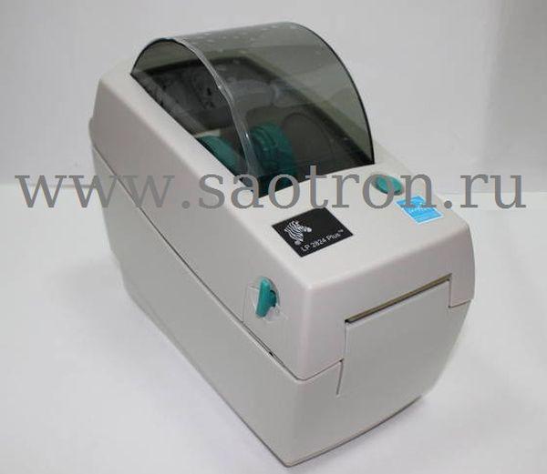 Термотрансферный принтер этикеток Zebra TLP 2824 Plus (203 dpi TT, RS232/USB)