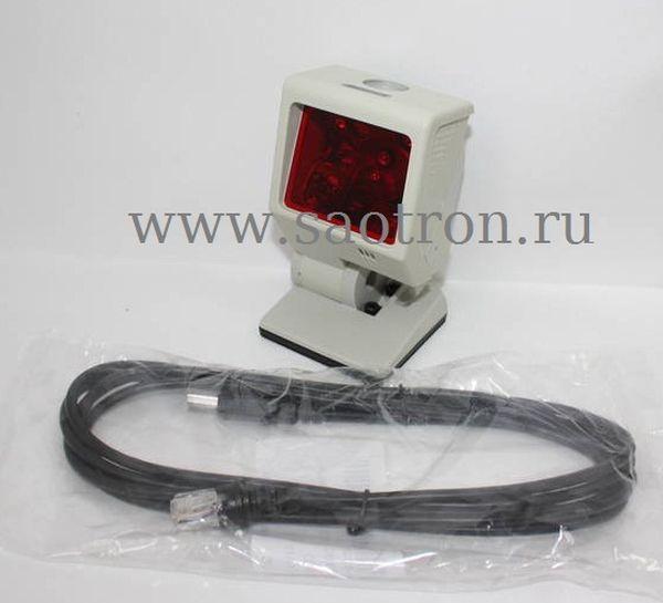 Сканер штрих кодов Metrologic MS 3580 USB Quantum T (Стационарный многоплоскостной сканер штрих кода, черный)