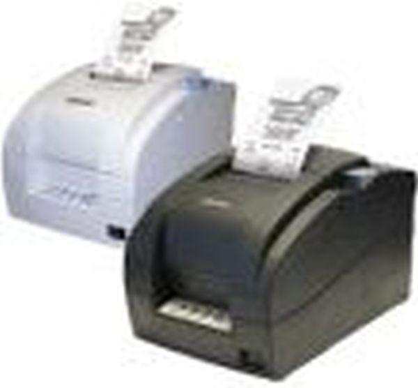 Матричный принтер чеков Samsung SRP 275CU USB (белый, с блоком питания, с автоотрезчиком)
