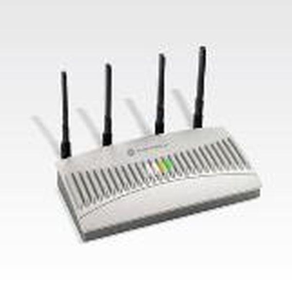 Точка доступа Zebra / Motorola Symbol AP 5131 40043 WWR (802.11b/g Single Radio, в комплекте с инжектором (AP PSBIAS 1P2 AF), блоком питания и четырьмя антеннами)