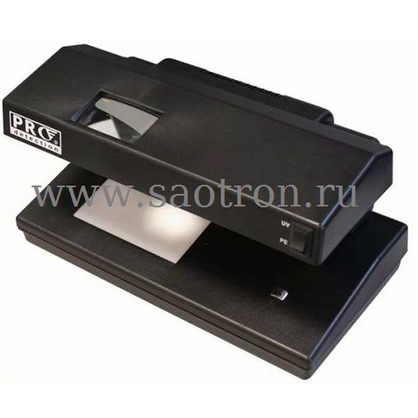 Просмотровый УФ детектор банкнот PRO 12 gray