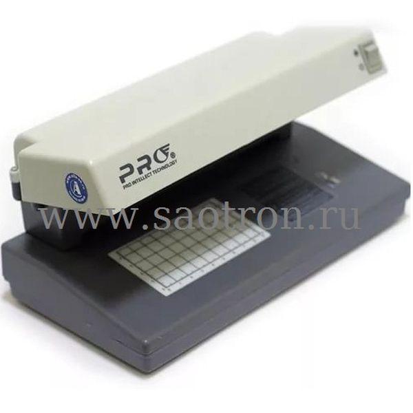 Просмотровый УФ детектор банкнот PRO 12 PM gray