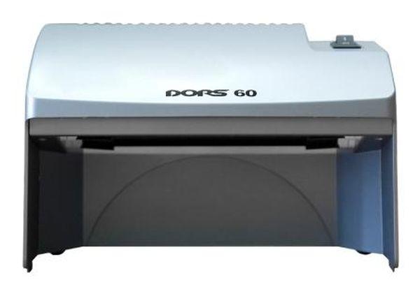 Просмотровый УФ детектор банкнот DORS 60 (серый)