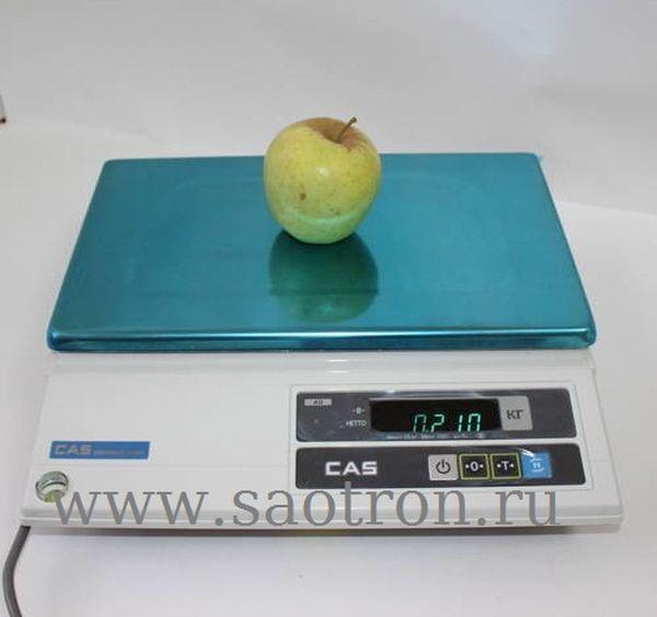 Электронные весы CAS AD-10H (настольные, с дисплеем, НПВ: 10 кг) CAS AD-10H