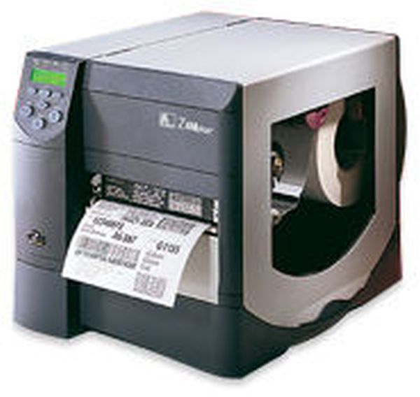 Термотрансферный принтер этикеток Zebra ZM400 (203 dpi, ZPL, сетевая карта ZebraNet 10/100)
