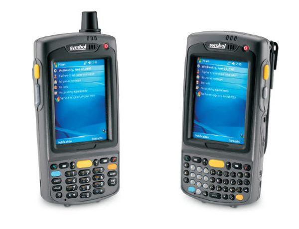 Терминал Zebra / Motorola Symbol MC7596 PZCSKQWA9WR (GPS, WLAN, HSDPA, 2D Imager & Camera, GSM, 128MB/256MB, QWERTY Keypad, WM 6.0, BT, 1.5X Battery)