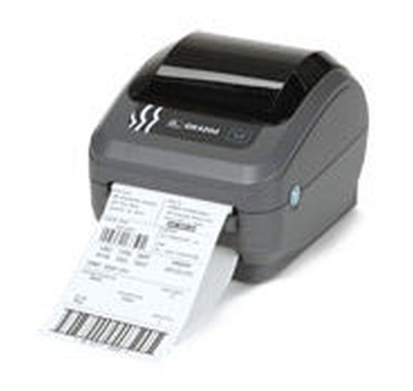 Термотрансферный принтер этикеток Zebra GX420t (203 dpi, RS232, USB, WiFi 802.11g, Дисплей LCD)