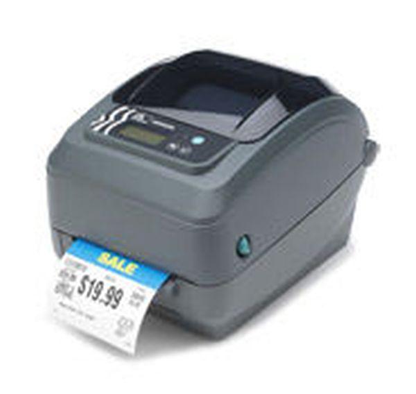 Термотрансферный принтер этикеток Zebra GX420t (203 dpi, RS232, USB, LPT, Нож, Сетевая карта 10/100 Ethernet) Zebra GX42-100422-000