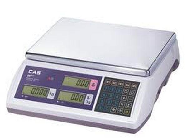 Весы CAS ER JR 15CB (НПВ: 15 кг, с подсветкой)