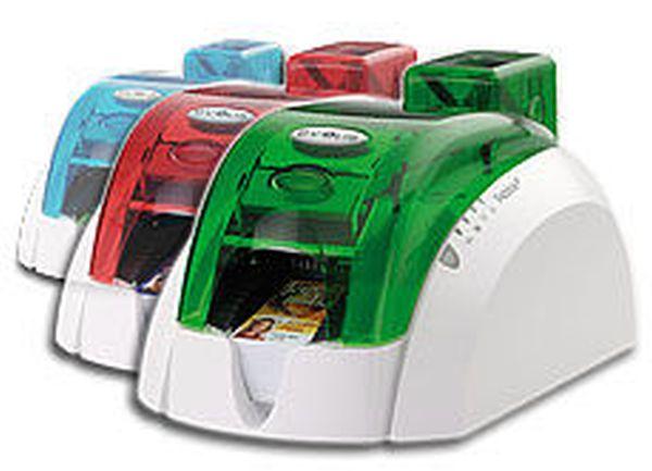 Принтер Evolis Pebble4 (цвет   красный, синий, зеленый),USB+Ethernet