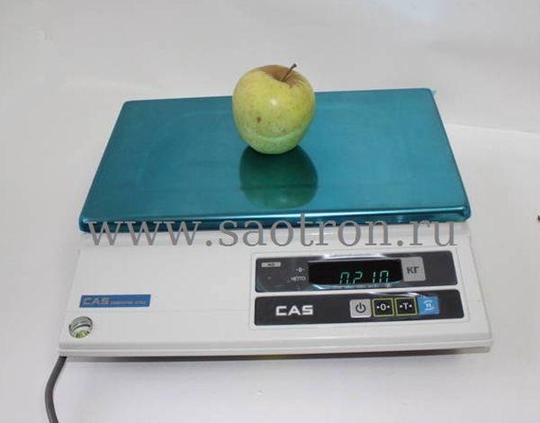Электронные весы CAS AD 05 (настольные, с дисплеем, НПВ: 5 кг)