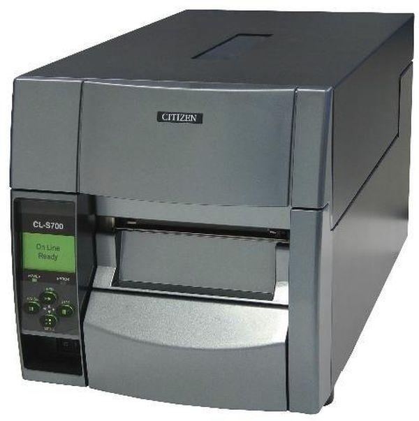 Термотрансферный принтер этикеток Citizen CL-S703R,300dpi (DMX+ZPI), намотчик Citizen 1000796