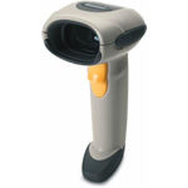 Сканер штрих кодов Zebra / Motorola Symbol LS 4208 KIT: RS232 (белый, в комплекте кабель RS232, БП и подставка)
