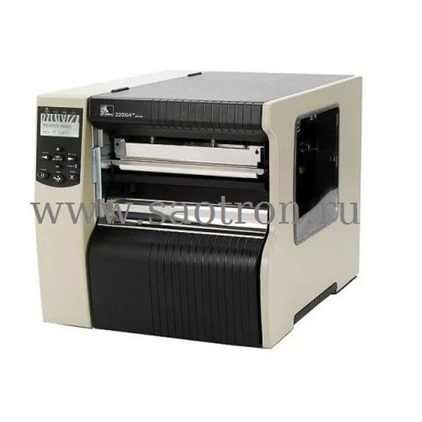 Термотрансферный принтер этикеток Zebra 220 Xi4 (254 мм/сек, 203dpi, ширина печати 216 мм, Ethernet)