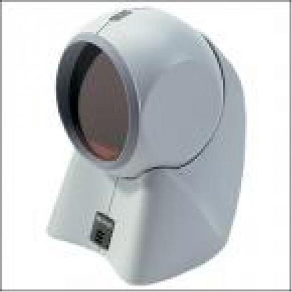 Сканер штрих кода лазерный LS9208, белый, с подставкой, комплект с кабе; Zebra / Motorola Symbol