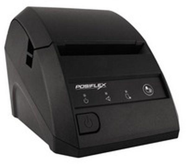 Принтер чеков Posiflex Aura 6800LB (Lan, RS, черный) с БП
