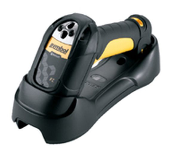 Сканер штрих кода Zebra / Motorola Symbol LS3578 KIT: USB (Беспроводный (Bluetooth V.1.2) LASER (FZ) сканер, в комплекте базовая станция, кабеля USB и БП)