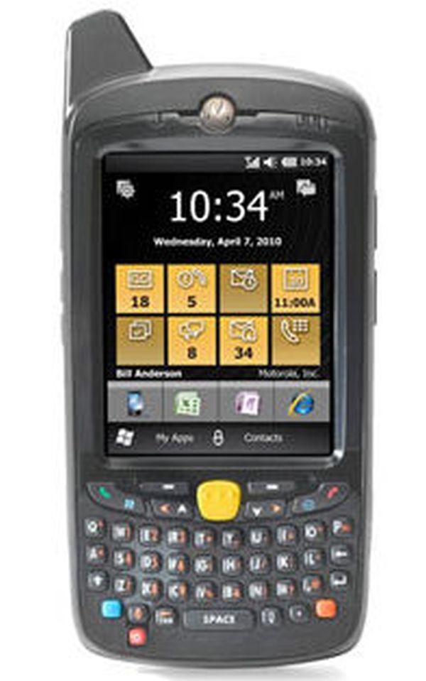 Терминал сбора данных Zebra / Motorola Symbol MC659B PB0BAA00100 (HSPA, EVDO, 802.11a/b/g, Imager, 256/1GB, Qwerty, WM6.5, 1.5X)