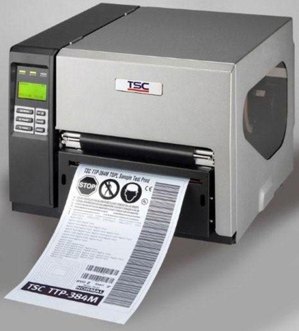 Термотрансферный принтер этикеток TSC TTP 384M PSUC+Ethernet (с отрезчиком)