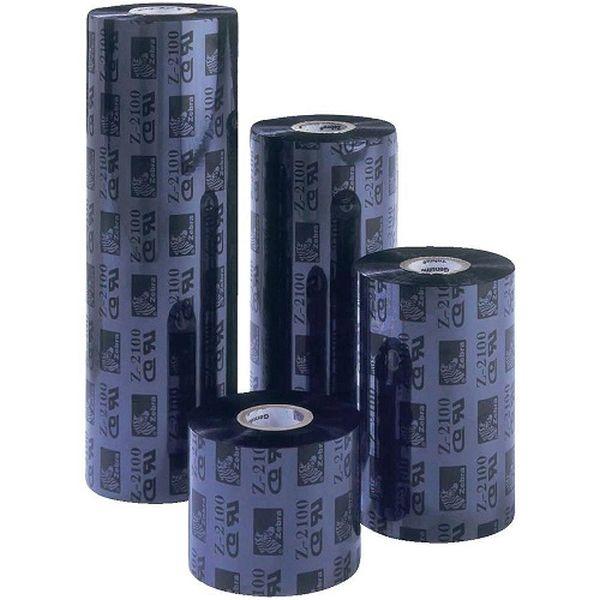 Красящая лента 3200 Premium Wax Resin Black 110 мм/ 300 м Zebra 03200BK11030
