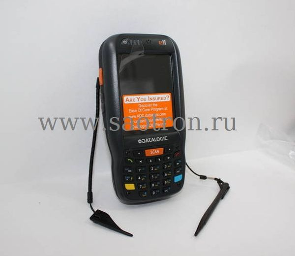 Терминал сбора данных Datalogic Elf with Bluetooth v2.0, 802.11 a/b/g CCX V4, Std 2D Imager w/ Green Spot, Camera 3MPixel, Windows Mobile 6.5, 256MB R Datalogic 944301001