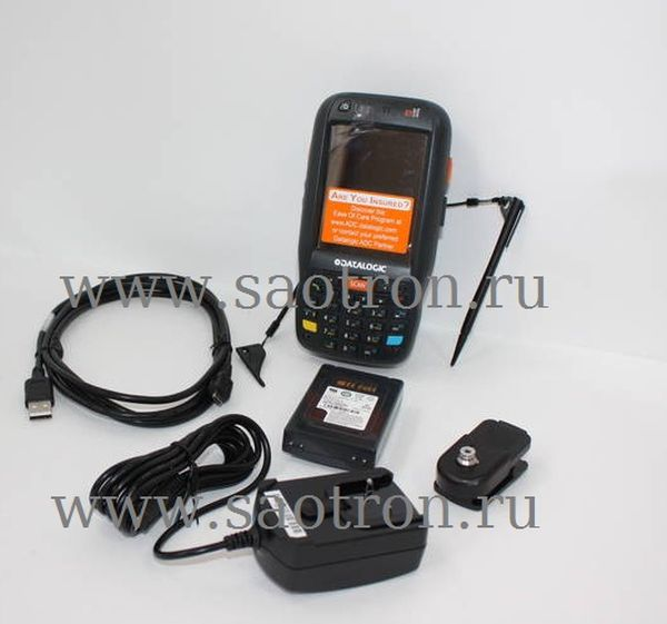 Терминал сбора данных Datalogic Elf with Bluetooth v2.0, 802.11 a/b/g CCX V4, Std 2D Imager w/ Green Spot, Camera 3MPixel, Windows Mobile 6.5, 256MB R