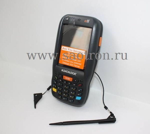 Терминал сбора данных Datalogic Elf with Bluetooth v2.0, 802.11 a/b/g CCX V4, 3.5G UMTS HSDPA, GPS, Std Laser w/ Green Spot, Camera 3MPixel, Windows M