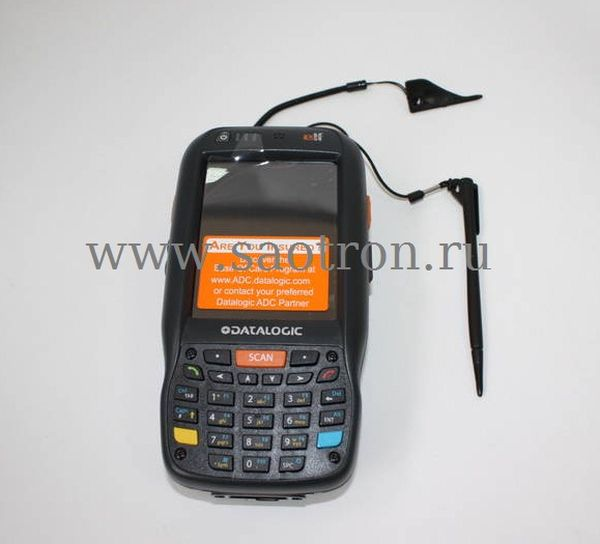 Терминал сбора данных Datalogic Elf with Bluetooth v2.0, 802.11 a/b/g CCX V4, 3.5G UMTS HSDPA, GPS, Std 2D Imager w/ Green Spot, Camera 3MPixel, Windo Datalogic 944301004