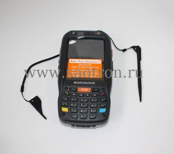 Терминал сбора данных Datalogic Elf with Bluetooth v2.0, 802.11 a/b/g CCX V4, 3.5G UMTS HSDPA, GPS, Std 2D Imager w/ Green Spot, Camera 3MPixel, Windo Datalogic 944301005