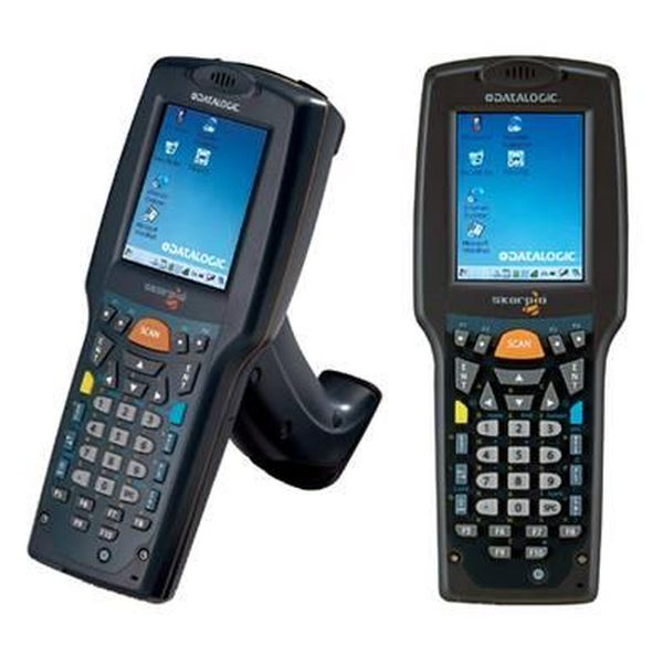 Терминал сбора данных Datalogic Skorpio GUN, 802.11b/g CCX V4, Bluetooth, 128MB RAM/512MB Flash, 28-Key Numeric, Std Laser with Green Spot, CE 5.0 Datalogic 942301007