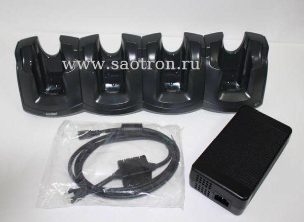 Четырехслотовая подставка (CRD3000-401CES) для зарядки терминалов (в комплекте БП (PWRS-14000-241R) и кабель постоянного тока (50-16002-029R)) Zebra / Motorola Symbol Motorola Symbol CRD3000-401CES