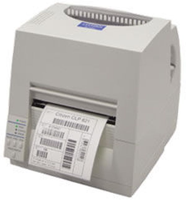 Термотрансферный принтер этикеток CITIZEN CLP S 621 Printer (серый, DMX/ZPI)