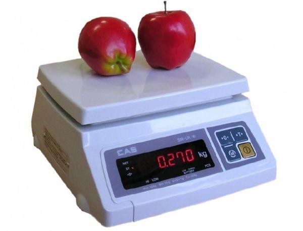 Весы CAS SWII 30 (настольные, НПВ: 30 кг)