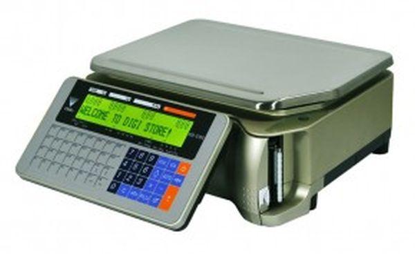 Электронные весы DIGI SM-5100B (Весы с печатью, 15 кг, Ethernet) DIGI SM-5100B-15