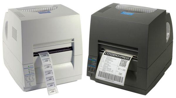 Термотрансферный принтер этикеток CITIZEN CLP S 631 Printer (серый, ZPI/DMX)