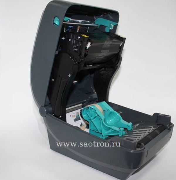 Термотрансферный принтер этикеток Zebra GK420t (203 dpi, RS232, USB, LPT)