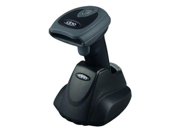 Сканер штрих-кода Cino F780BT USB темный (в комплекте с базовой станцией) CINO GPHS78011000K01