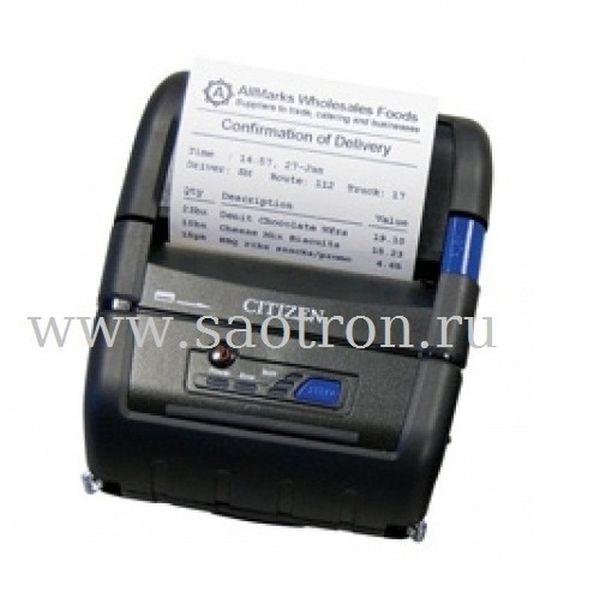 Мобильный термопринтер Citizen CMP 20 (DT, 203dpi, ширина печати 48мм, USB, Bluetooth)