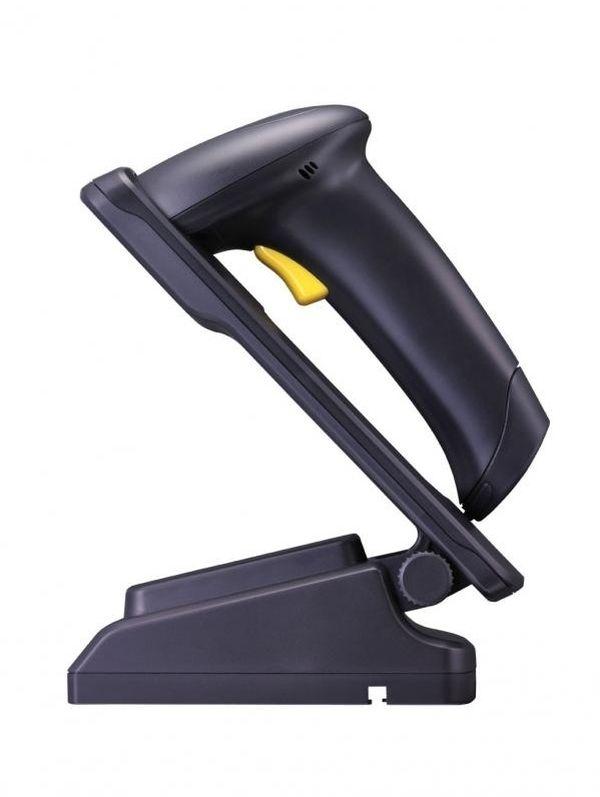 Сканер беспроводный CipherLab 1562-KIT USB (лазерный сканер штрихкода, с базой Bluetooth, кабель USB, аккумулятор) Cipher A1562CBK0H001