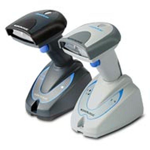 Сканер Datalogic QuickScan Mobile QM2130 KIT: RS232 (Беспроводной, 433mhz, белый, RS232 комплект (сканер, база, кабель, БП) Datalogic QM2130-WH-433
