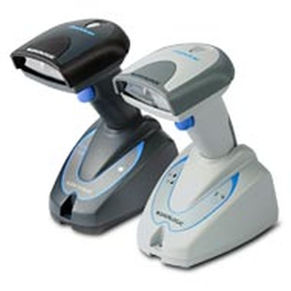 Сканер Datalogic QuickScan Mobile QM2130 KIT: USB (Беспроводной, 433mhz, белый, USB комплект (сканер, база, кабель, БП)