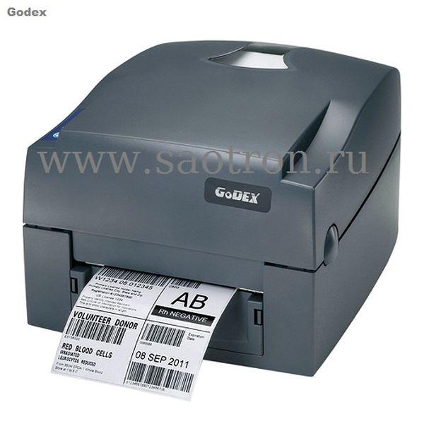 Термотрансферный принтер этикеток Godex G500 (203 dpi, USB) Godex 011-G50A02-000