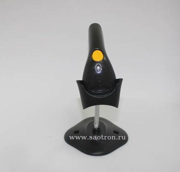 Сканер штрих кода Zebra / Motorola Symbol LS1203 KIT: USB (Лазерный сканер, черный, в комплекте кабель, подставка)