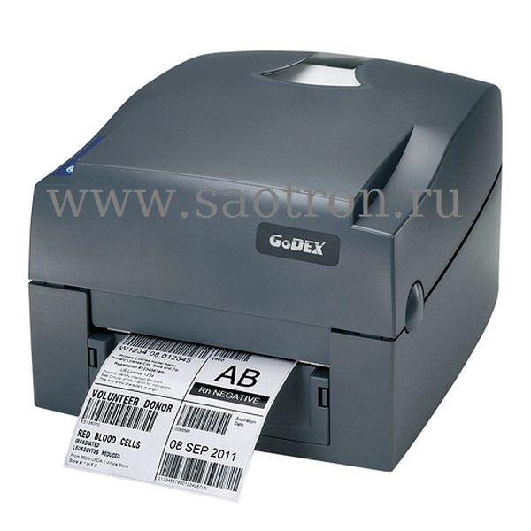 Термотрансферный принтер этикеток Godex G530U (300 dpi, USB)