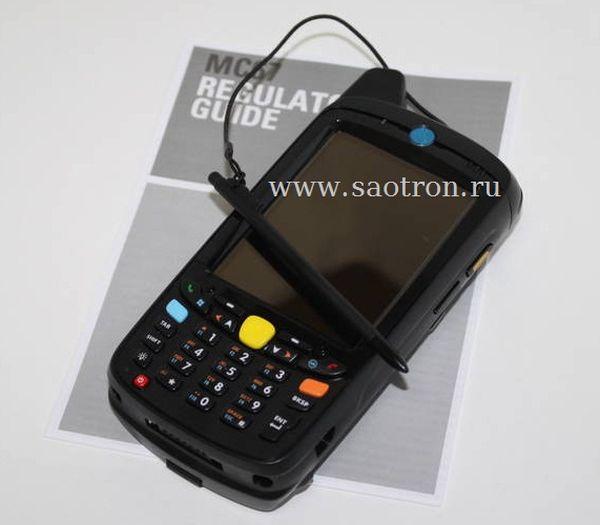 Терминал Zebra / Motorola Symbol MC67NA PBABAB00300 (HSPA+, 802.11a/b/g/n, Imager, WLP, BB, 512/2GB, Numeric, WM6.X, 1.5X)